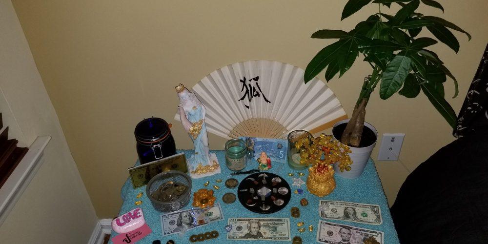 Creating an Abundance Altar