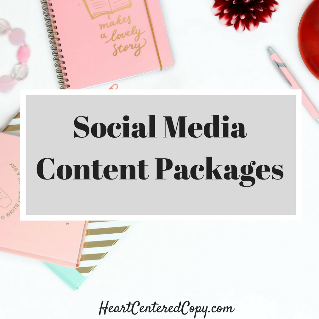 Social Media Content Packages